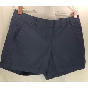 J Crew Chino blue broken in cotton shorts 5236